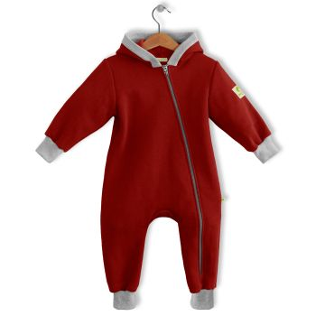 All-season Romper Suit 96/23 ADDO (weinrot)